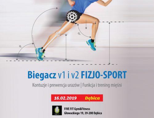 Biegacz FIZJO-SPORT v1 + v2 | 16.02.2019 DĘBICA  Zrozum ruch oraz co można zyskać dzięki prawidłowej pracy…
